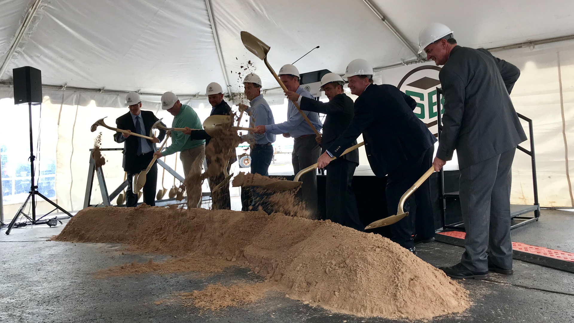 Groundbreaking at Green Bay Packaging